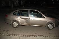 Poškozené auto. Ilustrační foto