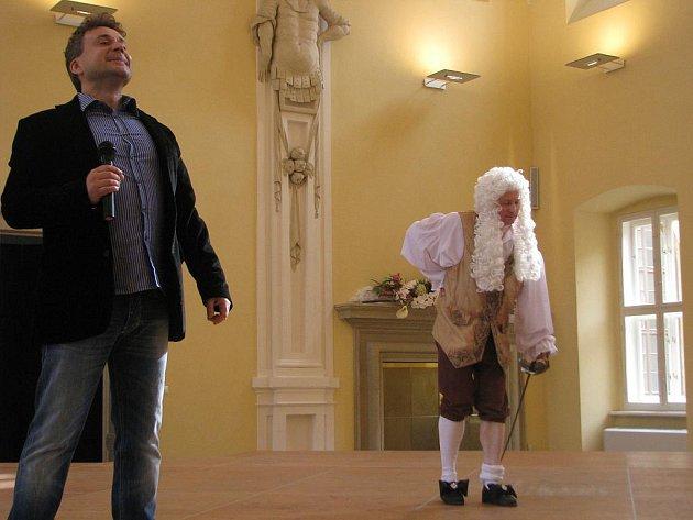 V Holešovském zámku se slavnostně otevřela 1. dubna 2011 sezóna v zámku.