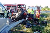 Tragická nehoda u Bezměrova