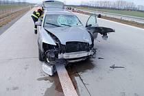 Nehoda u Břestu na Kroměřížsku