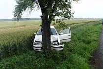 Dopravní nehoda u Zářičí.