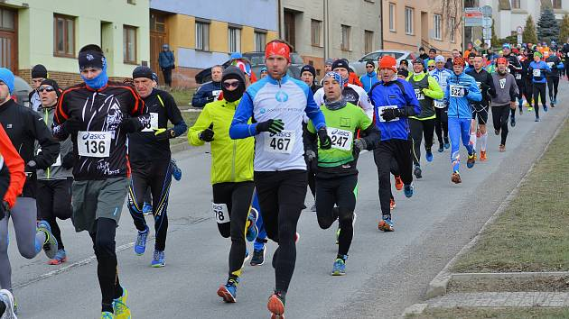 Pětadvacátý ročník závodu Rohálovská desítka se konal poslední únorovou sobotu na trati z Prusinovic do Tučap a zpět.