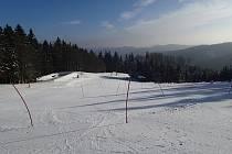 Ski areál Tesák.