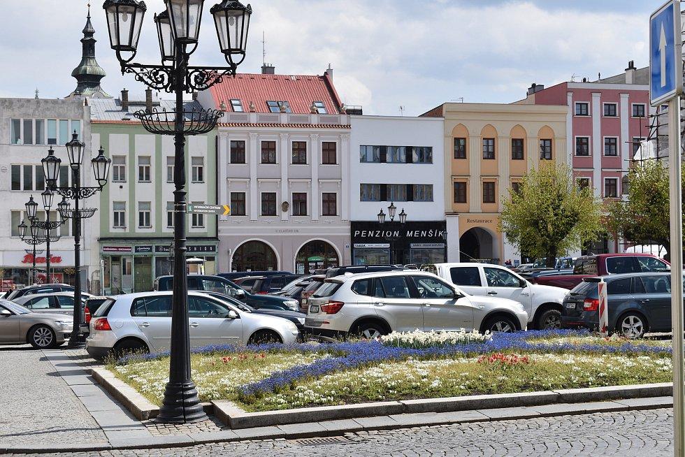 Natáčení Marie Terezie v Kroměříži.
