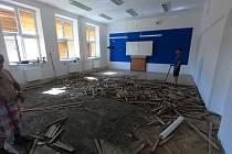 Rekonstrukce ZŠ Morkovice.