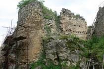 Hrad Cimburk. Ilustrační foto