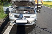 Požár osobního auta.