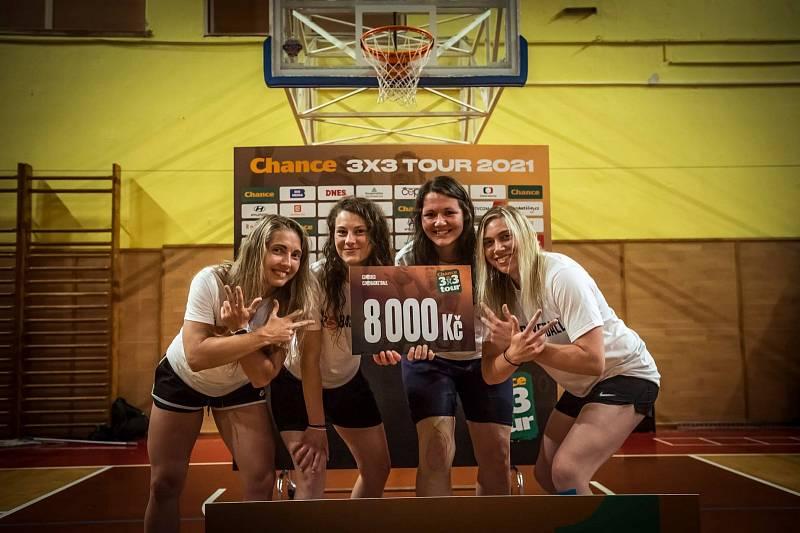 basketbalový turnaj Chance 3x3 Tour v Kroměříži 2021