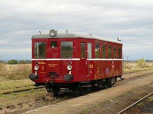 Historický vlak lidově nazývaný Hurvínek
