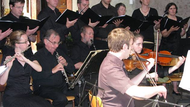 V kroměřížském chrámu sv. Jana Křtitele při příležitosti Forfestru zahrál skotský soubr Inchcolm New Music Ensemble.