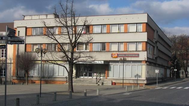 Bývalý hotel Podhoran v Bystřici pod Hostýnem