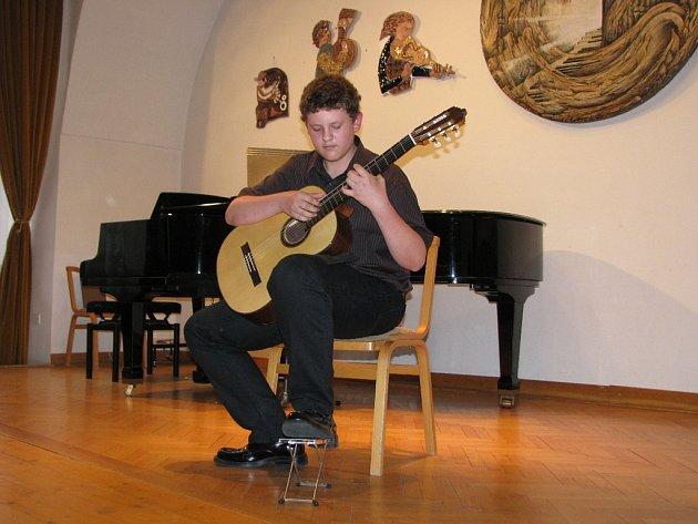 V Základní umělecké škole v Kroměříži se 21. 5. 2008 konal absolventský koncert žáků.