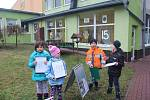Děti ze SVČ TYMY Holešov se zapojily do akce Ptačí hodinka.
