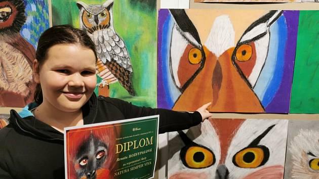 Více než 250 dětí pod vedením svých pedagogů ze ZUŠ Kroměříž vytvořilo unikátní výstavu oslavující přírodu