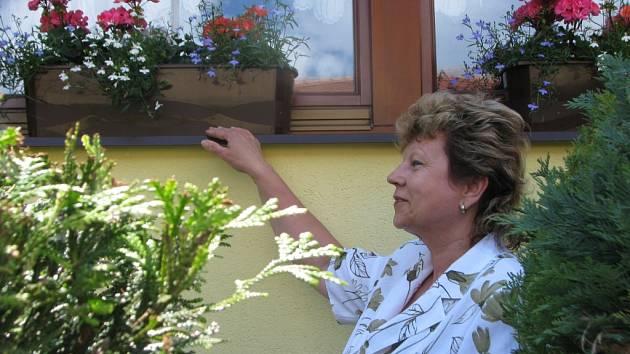 V Rymicích vyhlásili soutěž o nejhezčí upravený květinový dům a předzahrádku