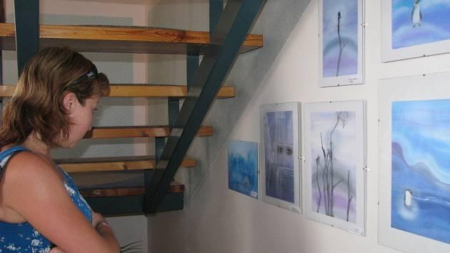 V Rymicích se 2. 6. 2008 konala veernisáž výstavy obrázků Věry Valáškové nazvaná Barevné prožitky.