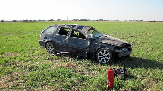 Nehoda mezi mezi Ludslavicemi a Kurovicemi