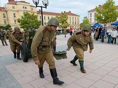 Den uniformovaných sborů v Kroměříži. Ilustrační foto