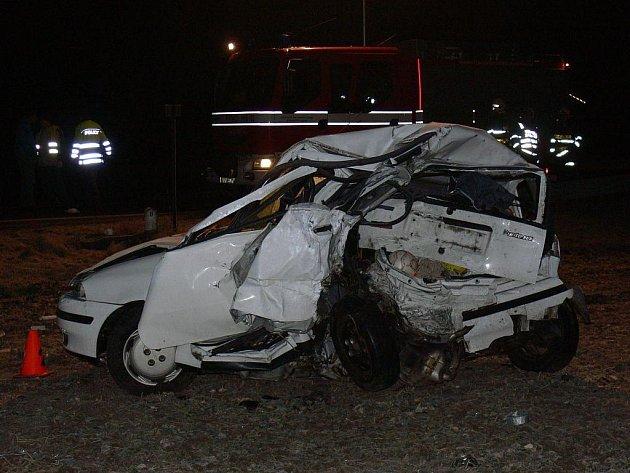 V úterý 21. února 2012 došlo k tragické dopravní nehodě u Hulína.