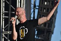 Igor Timko a kapela No Name na Music TON festivalu, sobota 10.7.2021.