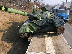 Nehoda tanku v Jestřabicích