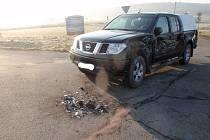 Dopravní nehoda u Kotojed.