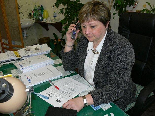 Ředitelka ZŠ Kostelec u Holešova Alena Grajciarová se se svojí školou zapojila do programu Ekogramotnost do škol.