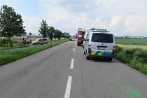Svědek celou nehodu, při které byl raněn motorkář, viděl.