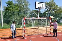 Nové sportoviště v Kotojedech