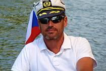 Martin Němec bude letos provozovat v Kroměříži výletní plavby po Moravě.