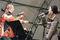 V pátek 26. listopadu 2010 se na Velkém náměstí v Kroměříži konala pohádka Mrazík v nedtradičním provedení studentů soukromé ZUŠ D-Music Kroměříž.