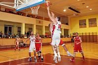 basketbal 2. liga Valašské Meziříčí - Kroměříž
