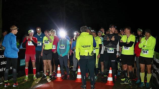 Noční běh v Holešově 2019