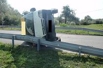 Dopravní nehoda u Troubek na Kroměřížsku.