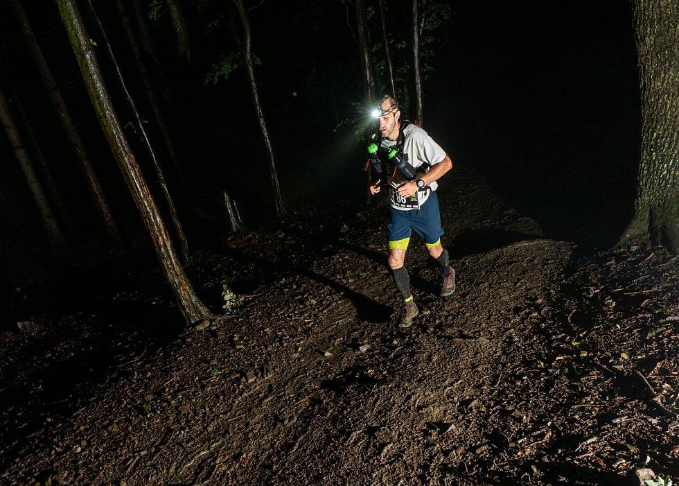 Noční běh na Rusavě 2020