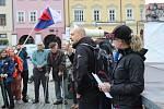 Demonstrace v Kroměříži