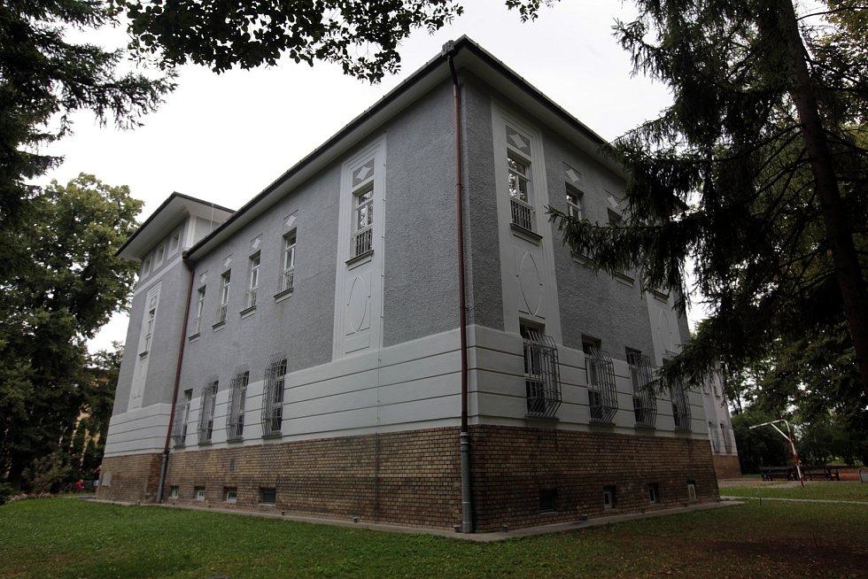 Psychiatrická nemocnice v Kroměříži, srpen 2021.