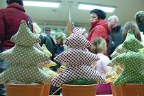 V kroměřížské Základní škole Zámoraví se ve středu 14. prosince 2011 uskutečnil tradiční Vánoční jarmark.