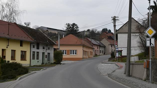 Obec Sulimov, březen 2021.