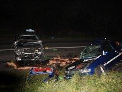 Při nehodě u Bystřice pod Hostýnem v neděli večer zemřeli dva mladí lidé