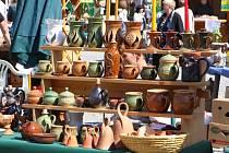 Hrnčířské, keramické a farmářské trhy v Kroměříži