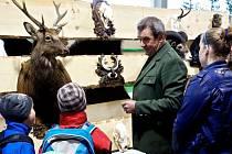 V Kroměříži se o druhém dubnovém víkendu koná výstava věnovaná myslivosti, včelaření a rybářům.