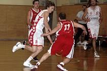 Basketbalisté Slavie. Ilustrační foto