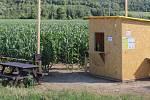 Letním trendem se letos stala kukuřičná bludiště. Jedno takové je dokonce i v Kroměříži a fungovat bude až do konce září.