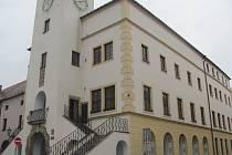 Historická budova kroměřížské radnice