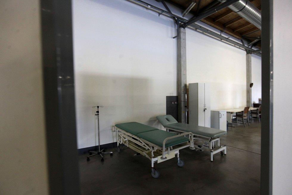 Na kroměřížském výstavišti vzniká očkovací centrum