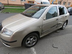 Nehodu, při které utrpěla újmu hned čtyři auta, museli ve středu odpoledne po půl čtvrté řešit dopravní policisté v kroměřížské Spáčilově ulici.