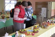 V sále hasičské zbrojnice v Morkovicích se o uplynulém víkendu konala Velikonoční výstava.