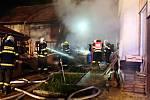 Požár domu, Žeranovice, 27. prosince 2020