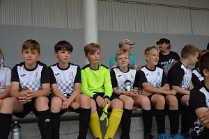 Malí fotbalisté hráli O pohár města Holešova.